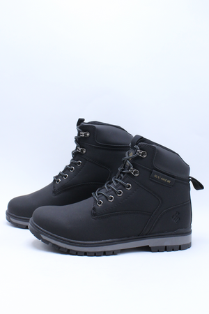 Men's Amboy Boot - Black-VIM.COM