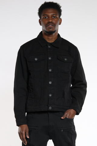 Men's Twill Rips Jacket-VIM.COM