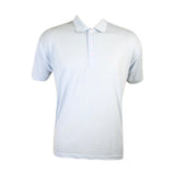 Galaxy By Harvic - Men's Pique 3 Buttons Polo Shirt - Light Blue - V.I.M. - 1