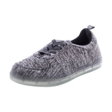 Gravasphere - Women's Light Up Sneaker - Grey - V.I.M. - 1