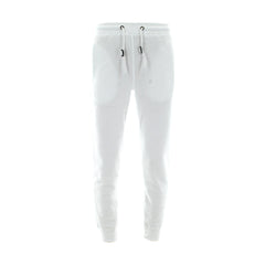 Skazi New York - Men's 250 Gsm Solid Basic Fleece Joggers - White - V.I.M. - 1