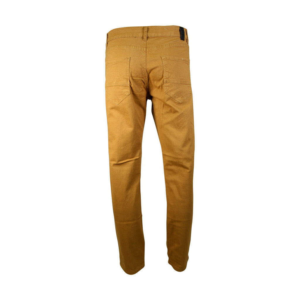 Azazel - Men's Twill Stretch Pants - Dark Khaki - V.I.M. - 1