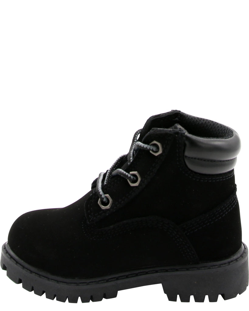 LEVI'S Boys' Toby 6 Inch Boots (Toddler) - Black - Vim.com