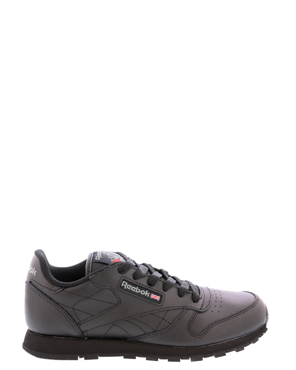 REEBOK-Boys' Classic Leather 71-5014 Sneakers (Grade School) - Black-VIM.COM