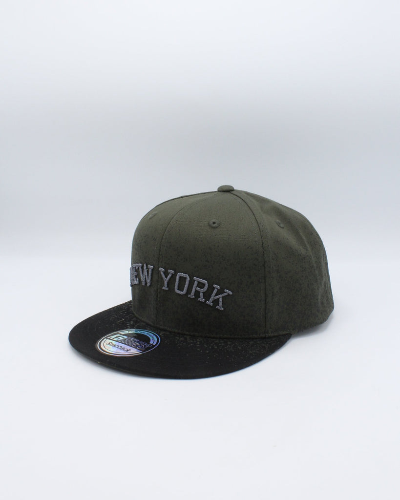 VIM New York Paint Splatter Snap - Olive - Vim.com
