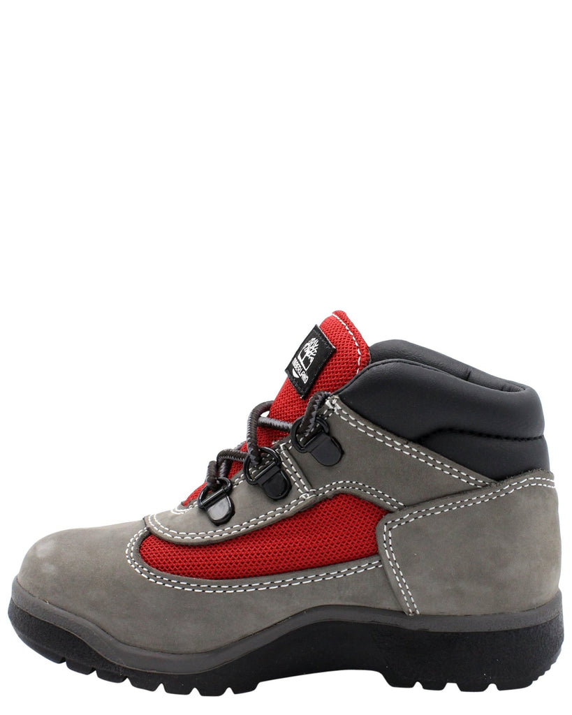 TIMBERLAND 6-Inch Waterproof Field Boot (Toddler/Pre School) - Grey - Vim.com