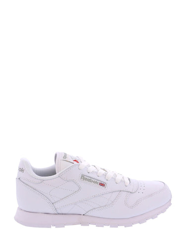 REEBOK-Boys' Classic Leather 71-5014 Sneakers (Grade School) - White-VIM.COM