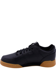 REEBOK Men'S Workout Plus Gum Sneaker - Black - Vim.com