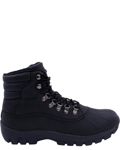 VIM Men'S Hiker Mid Boot - Black - Vim.com