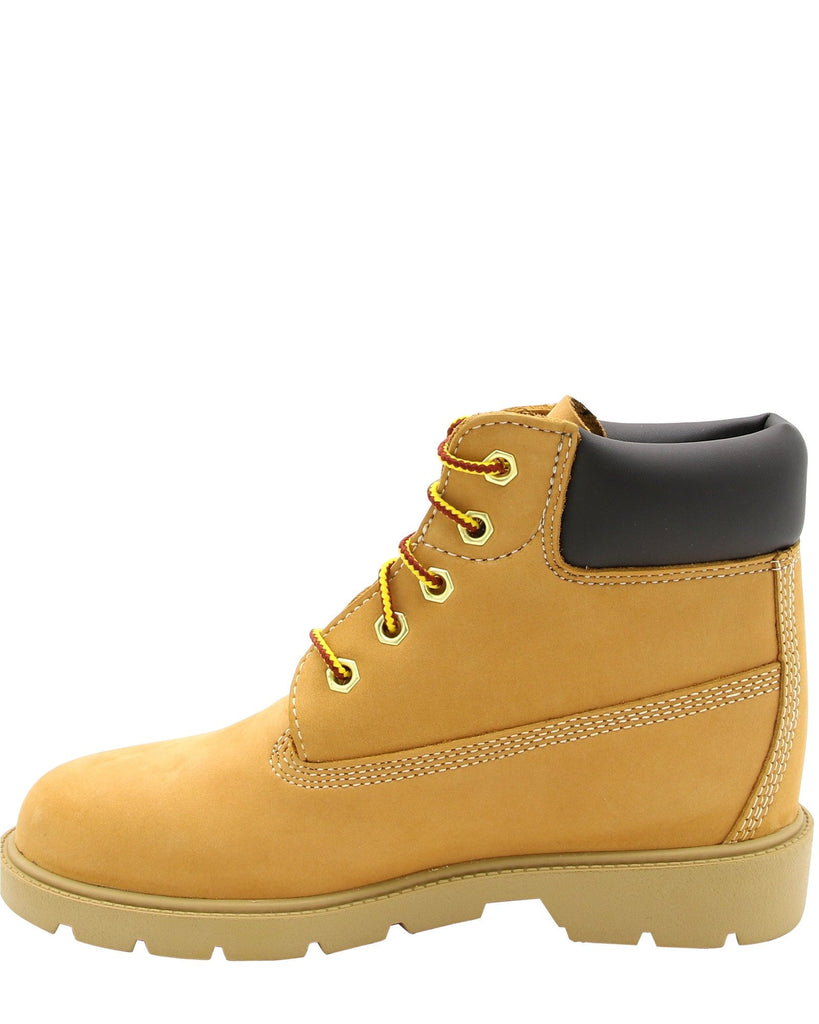 TIMBERLAND Classic 6-Inch Waterproof Boots (Pre School) - Wheat - Vim.com