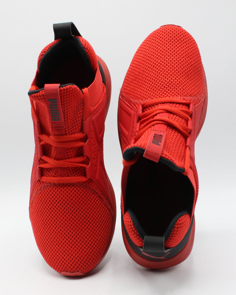 PUMA Men'S Enzo Weave Sneaker - Red - Vim.com