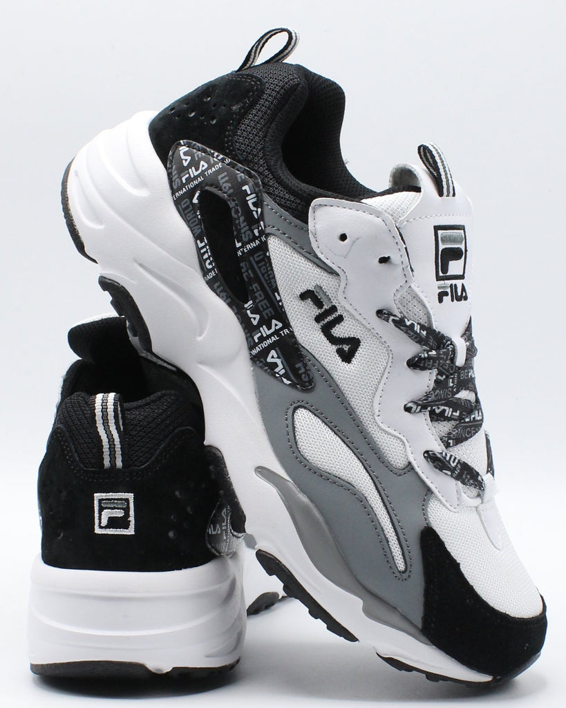 Ray Tracer Sneaker - White Black Grey