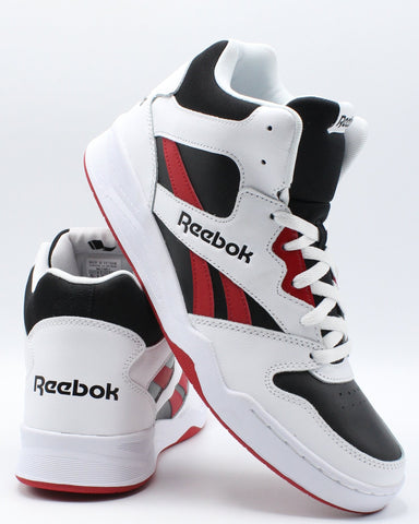 REEBOK-Men's Royal Bb 4500 Hi 2 Sneaker - White Black Red-VIM.COM