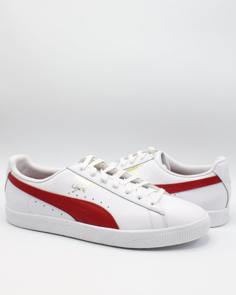 newest 2882d ac0b5 Clyde Core Foil Sneaker - White Red