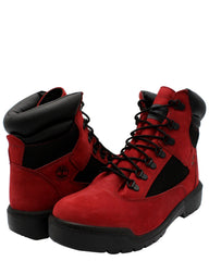 TIMBERLAND Men'S 6-Inch Waterproof Field Boot - Red - Vim.com