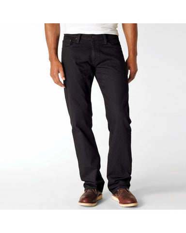 LEVI'S-Men's 514 Slim Straight Jean - Black-VIM.COM