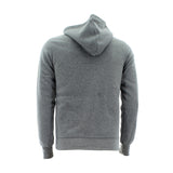 Floose - Men's Basic Fleece Hoodie 220 Gsm Sweatshirt - Heather Grey - V.I.M. - 2