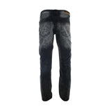 Gray Earth - Men's Moto Rips Zip Pocket Jean - Black - V.I.M. - 2
