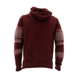Floose - Men's F.Terry Biker Hoodie Rips Sweatshirt - Burgundy - V.I.M. - 2