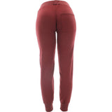 Rok  - Women's Basic Fleece Bottom Joggers - Burgundy - V.I.M. - 2