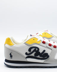POLO RALPH LAUREN Oryion Script (Grade School) - Grey Yellow - Vim.com