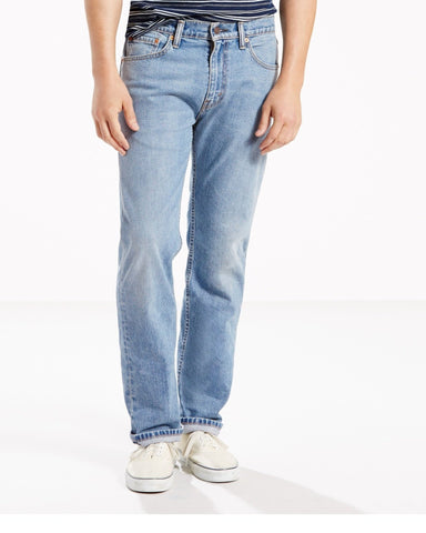 LEVI'S-Men's 501 Stretch Jeans - Blue-VIM.COM