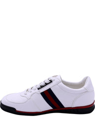 BEVERLY HILLS POLO CLUB Men'S Murano Sneaker - White Navy Red - Vim.com