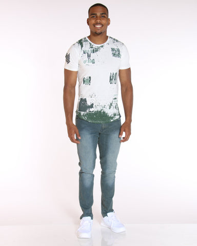 VIM Mike Slim Fit Embroidered Pocket Jean - Medium Wash - Vim.com