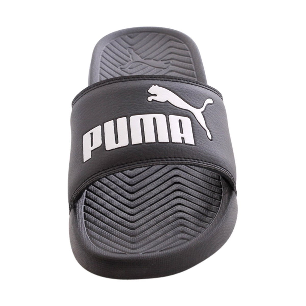 PUMA Men'S Popcat Slide Flip Flop Sandals - Black - Vim.com
