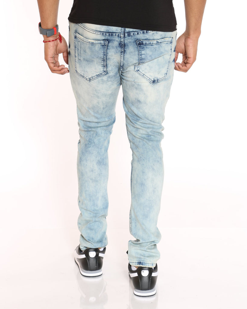 VIM Ripped And Scratch Finish Skinny Jean - Vintage - Vim.com