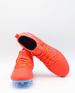 PUMA Men'S Future 19.3 Netfit Fg/Ag Soccer Shoe - Red - Vim.com