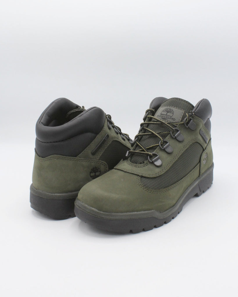 TIMBERLAND Mid Field Boot (Pre School) - Green - Vim.com