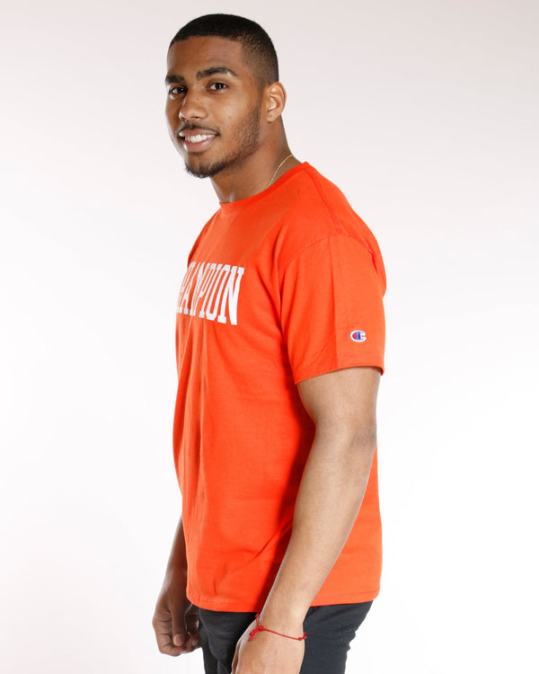 CHAMPION Champion Classic Graphic Tee - Spicy Orange - Vim.com