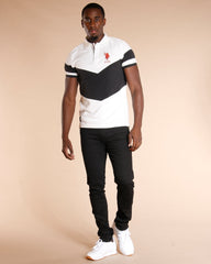 U.S. POLO ASSN. Color Block U.S Polo Shirt - White - Vim.com