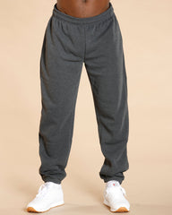 Skazi New York Men'S Fleece Pant - Charcoal - Vim.com