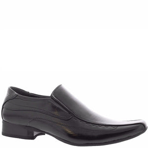 Joy Foot Men'S Slip On Bike Toe Dress Loafers - Black - Vim.com
