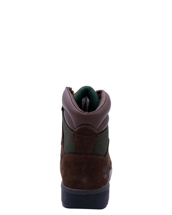TIMBERLAND 6-Inch Field Boot (Pre School) - Brown - Vim.com