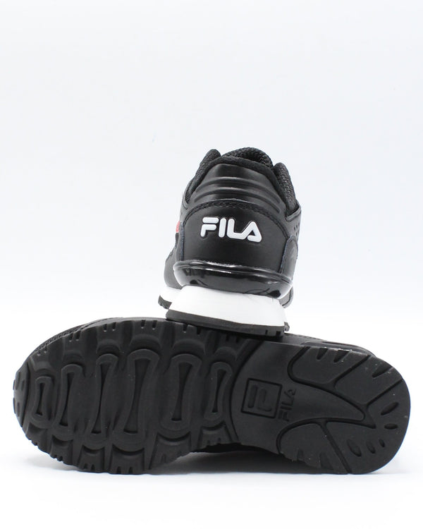 FILA Classico 19 Sneaker (Pre School) - Black Red White - Vim.com