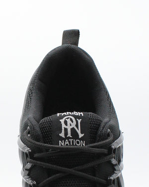 PARISH NATION Men'S Lace Up Sneaker - Black - Vim.com