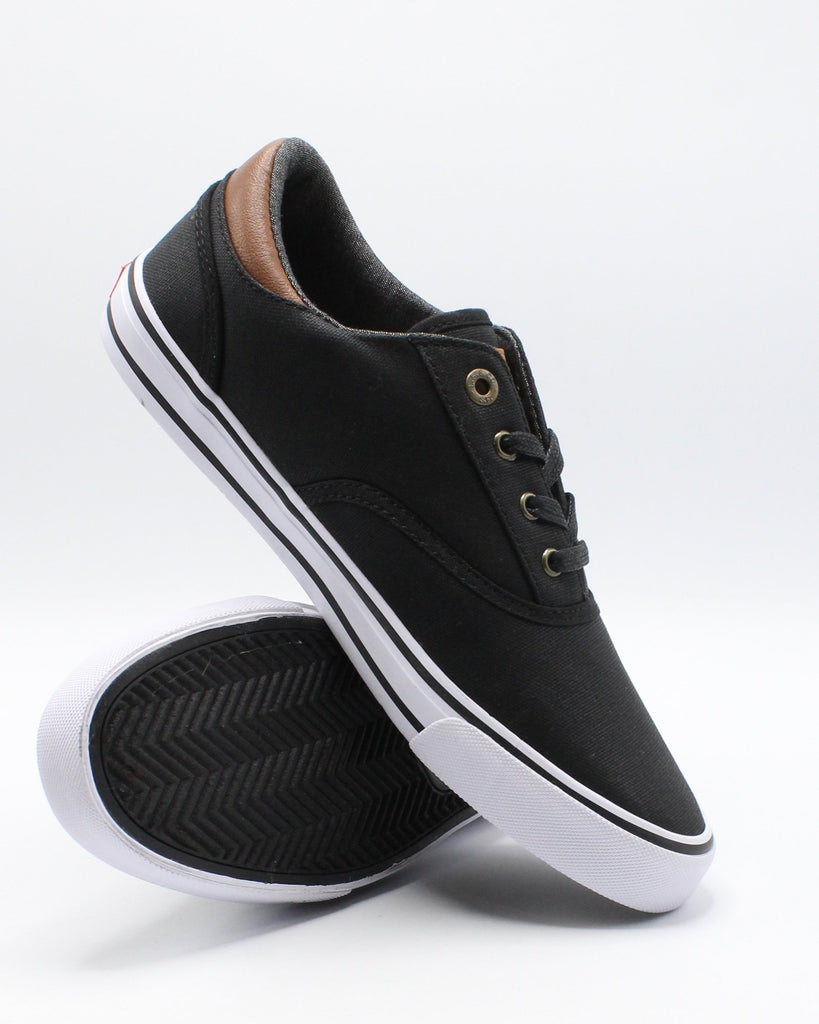 LEVI'S Men'S Ethan Ct Canvas Il Sneaker - Black - Vim.com