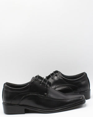 VIM Men'S Lace Up Square Toe Shoe - Black - Vim.com