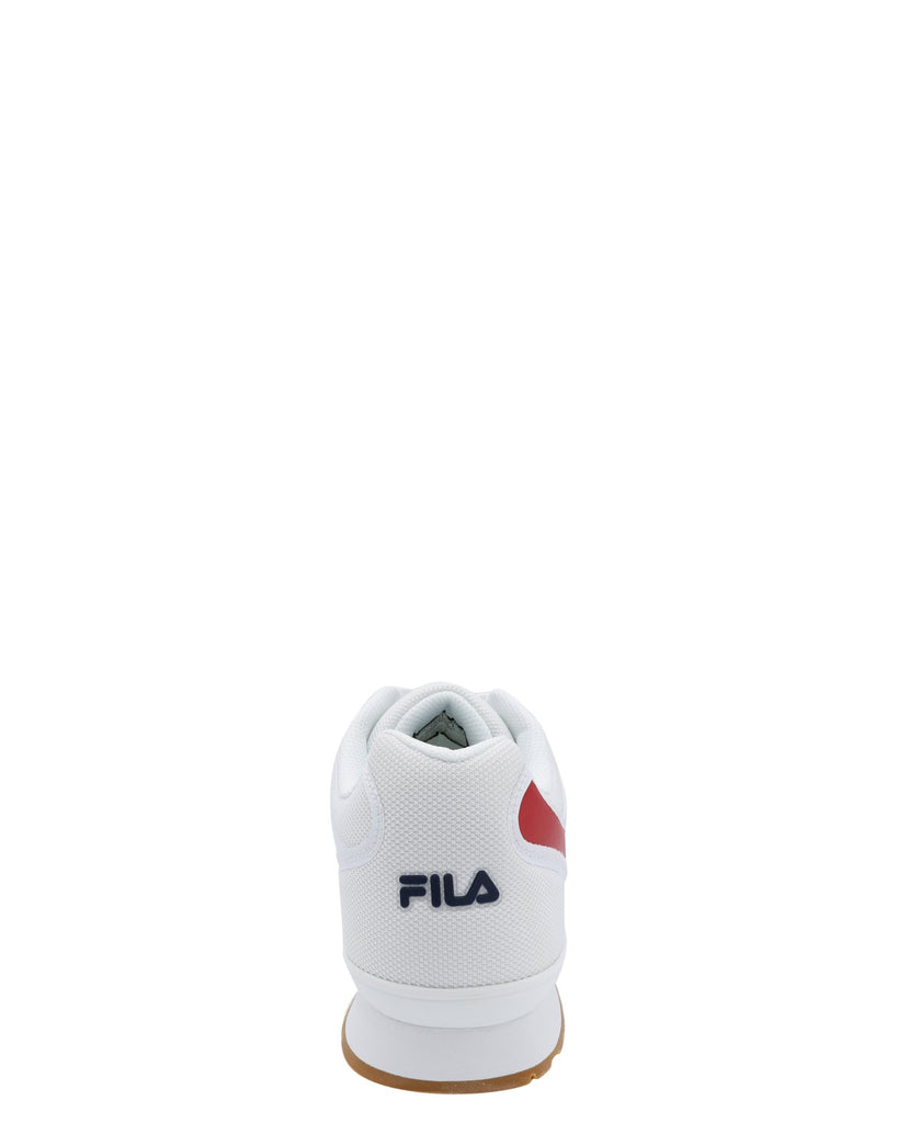 FILA Men'S Forerunner 18 Sneaker - White Navy Red - Vim.com