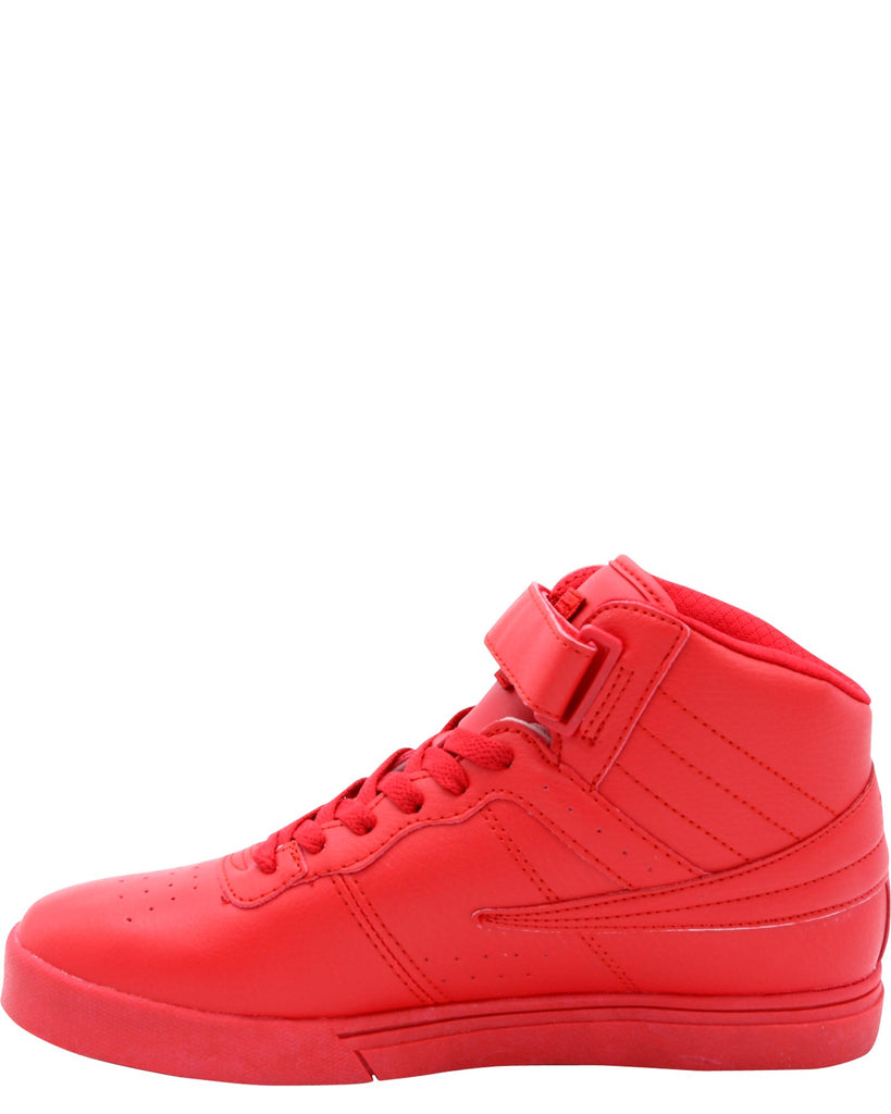 FILA Vulc 13 Mid Plus Tonal Sneakers (Grade School) - Red - Vim.com