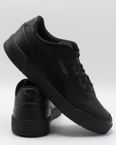PUMA Caracal Junior Sneaker (Grade School) - Black - Vim.com
