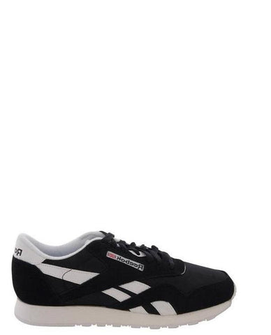 REEBOK-Men's Classic Nylon Sneakers - Black-VIM.COM