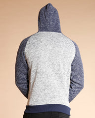 VIM Raglan Color Block Sweater - Grey - Vim.com