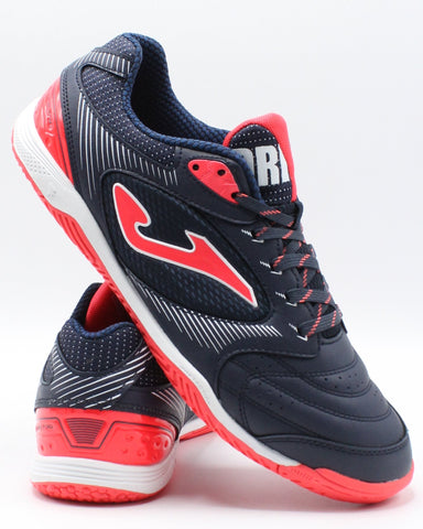 JOMA Men'S Dribling Indoor Shoe - Navy Red - Vim.com