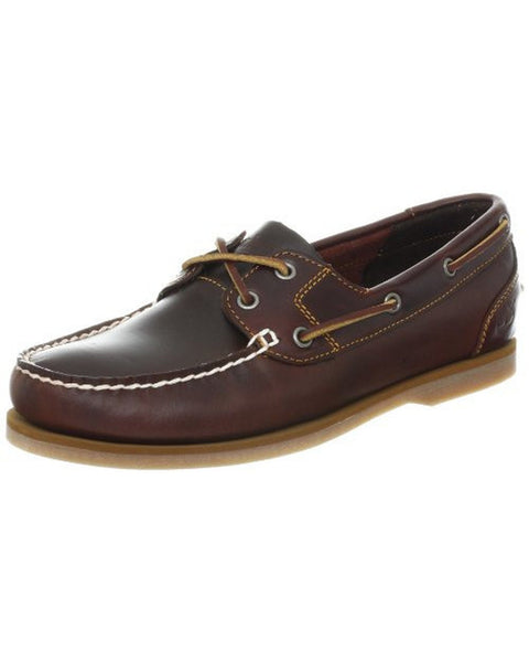 Timberland - Women's Earthkeepers 2 Eye Boat Shoes - Rootbeer Brown - V.I.M.