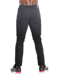 Men's Basic Five Pocket Twill Pants