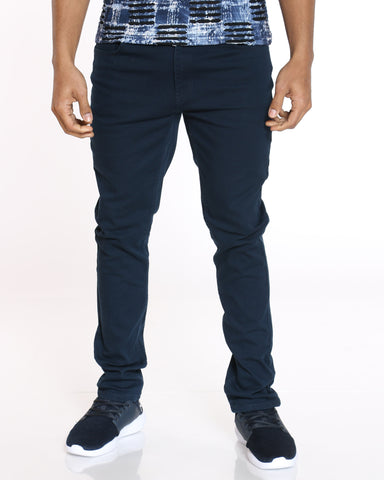 SKAZI-Men's Chris Twill Pant - Navy-VIM.COM
